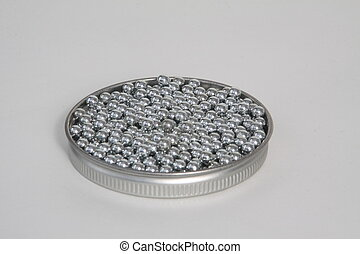 177 Cal BB - Steel BBs for air gun in container top