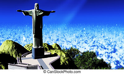 Christ the Reedemer - Famous statue of the Christ the...