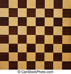 Chess Board - Wooden chess board texture
