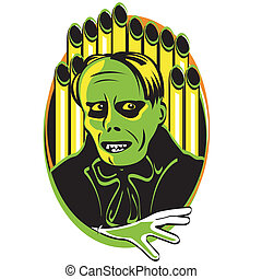 Halloween Horror Monster Clip Art - Halloween horror monster...