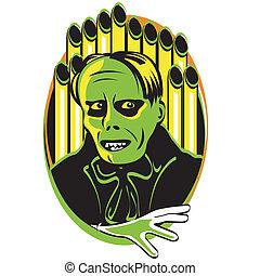 Halloween Horror Monster Clip Art