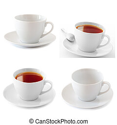 Cups collage