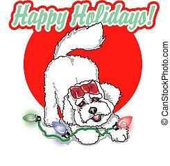 Happy Holidays sign clip art