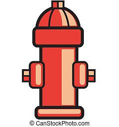 Fire hydrant clip art