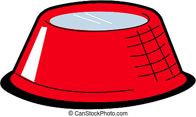 Dog bowl clip art