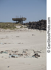 Viewing Platform at the South Jetty - The Viewing Platform...