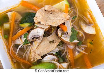 tom yum soup - thai tom yum soup