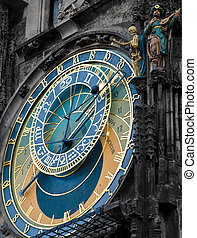 Astronomical clock - Praha landmark - Prague Orloj...