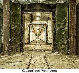 Underground bunker from cold war Ukraine, Sevastopol