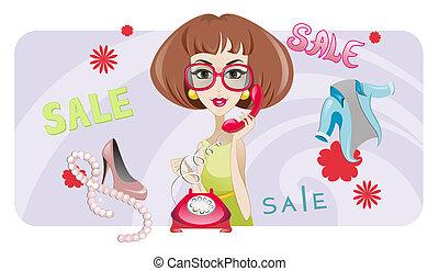 Sale (Fashion Woman)