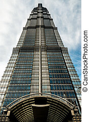 Jin Mao Tower pudong shanghai china - Jin Mao Tower...