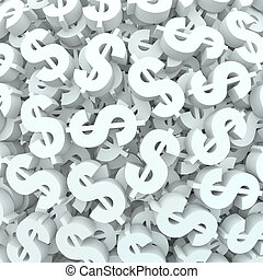 Currency Money Background Dollar Signs Finance - A...