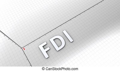 Growing chart - FDI - Growing chart graphic animation,...
