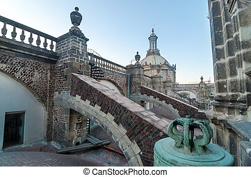 Mexico City Cathedral Roof