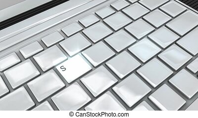 Social media privacy - Keyboard keys, Social media privacy...