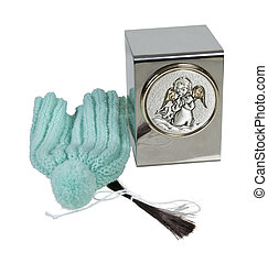 Child's Urn with Hair Clipping and Cap - Baby or small...