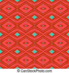 Seamless pattern in art deco style