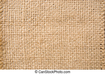 Rough texture of burlap for Background.