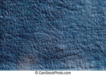 Background old blue leather