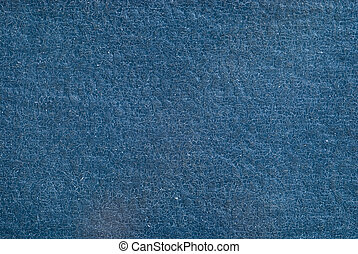 Background old blue leather with small cracks