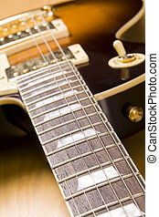 guitar - electric guitar background close-up