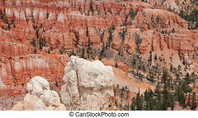 the amazing rock structures at bryce canyon, utah, usa
