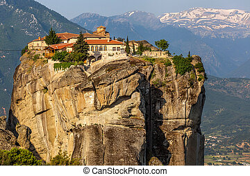 The Monastery of the Holy Trinity 1475, Meteora, Greece