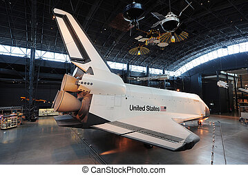 space shuttle - NASA Enterprise space shuttle from Air and...