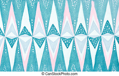stylized ice crystal pattern - abstract ornament - stylized...