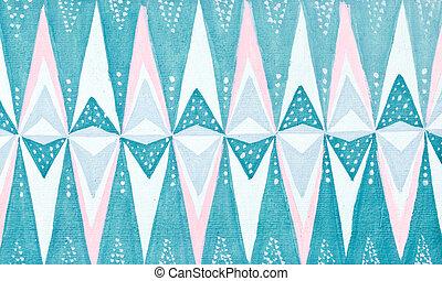 stylized ice crystal pattern