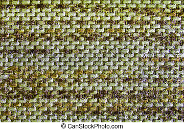 The Green Knit Fabric Texture Pattern.