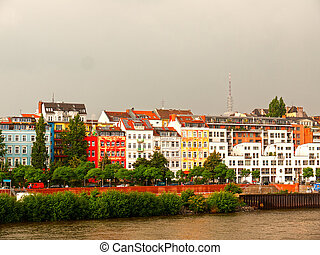 hamburg a very beautiful town in germany