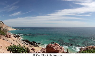 beautiful scene in los cabo, baja california sur mexico...