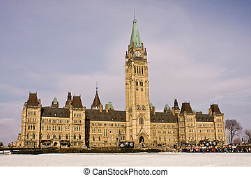 Parliament Hill Rally, Ottawa - Rally on Parliament Hill in...
