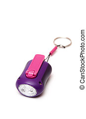 lilac flashlight - Flashlight lilac and pink to light in the...