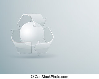 recycling concept background
