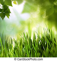 Green world, abstract environmental backgrounds for your design