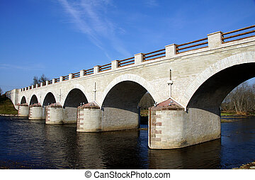 Old bridge - The old bridge in the east of Estonia