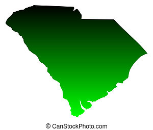 Map of South Carolina
