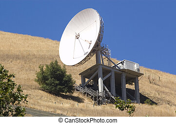 Communication dish - A large microwave communication dish