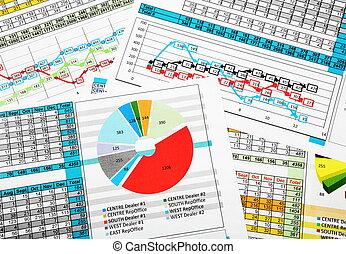 empresa / negocio, ventas, informe, Estadística