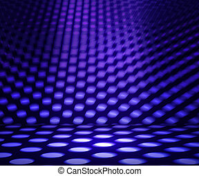 Led Spotlight Abstract Background