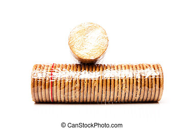 packet of biscuits - large packet of biscuits for breakfast...