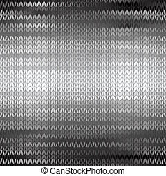 Seamless Knitted Melange Pattern - Style Seamless Knitted...