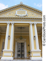 front gate - the classical gate in pangpa-in palace