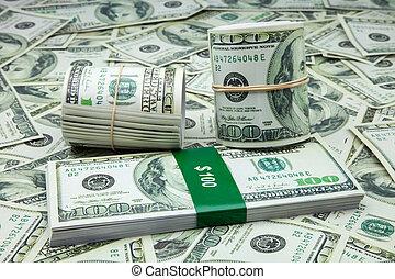 norteamericano, dólares