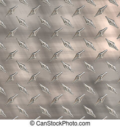 diamond plate - aged diamond plate