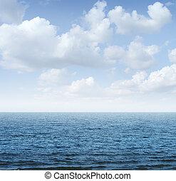 cielo, oceano