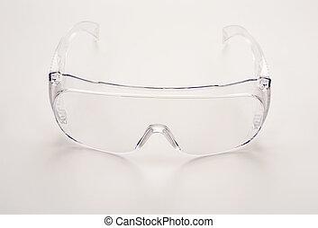 sécurité, lunettes