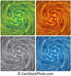 Abstract Swirl Backgrounds